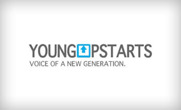 young upstarts online performance press logo