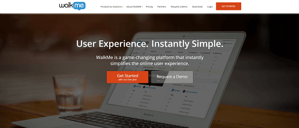 walkme.com screenshot